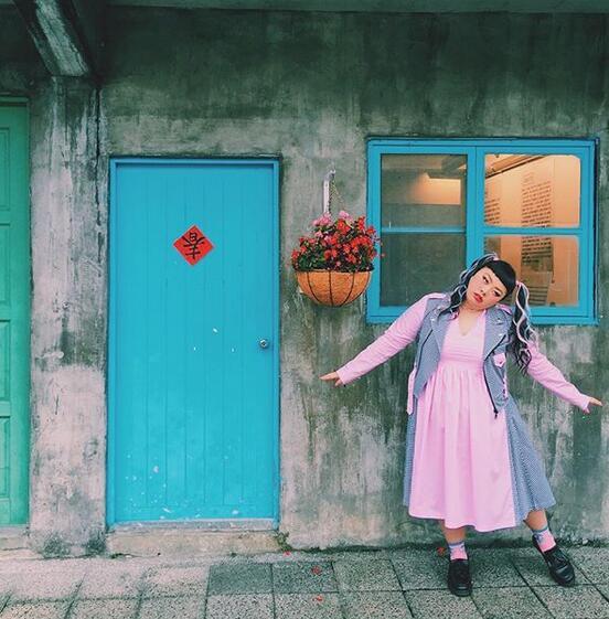 日系少女风穿搭