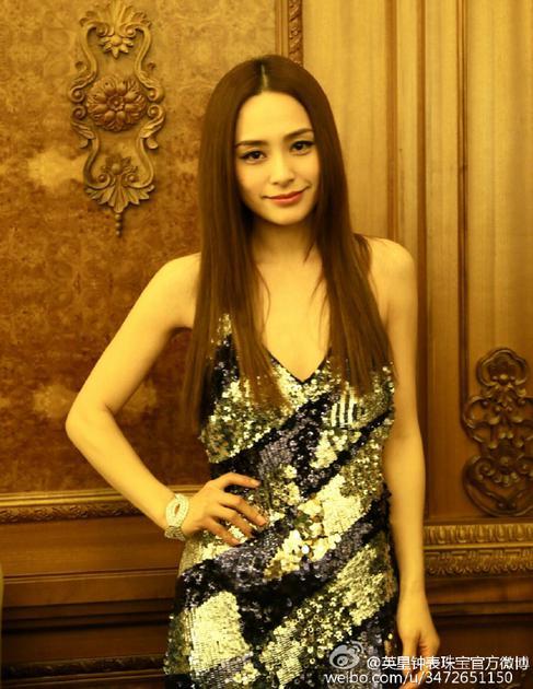 2016年阿娇出席《罗曼蒂克消亡史》首映礼