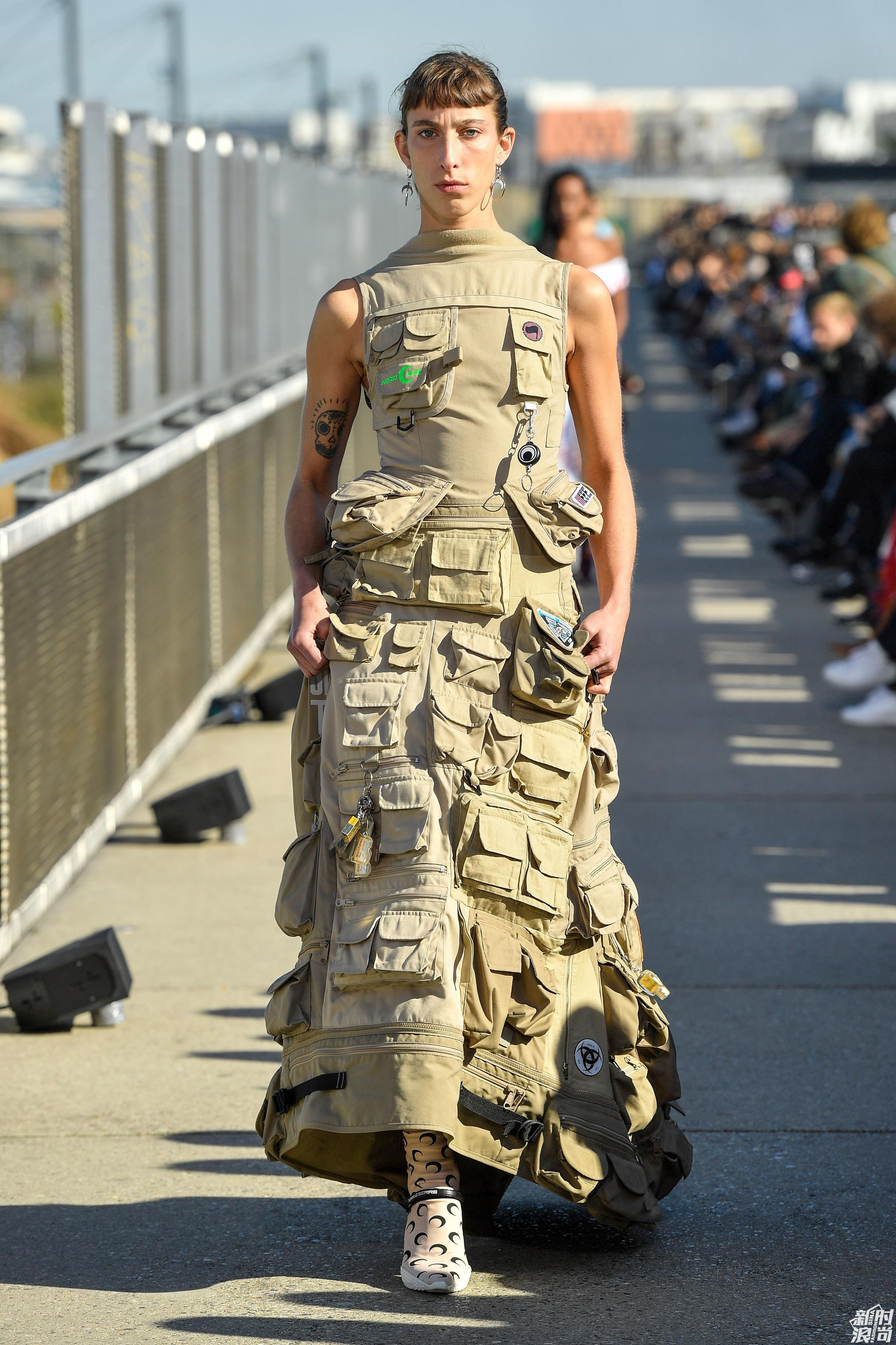 Marine Serre 2019春夏巴黎时装周