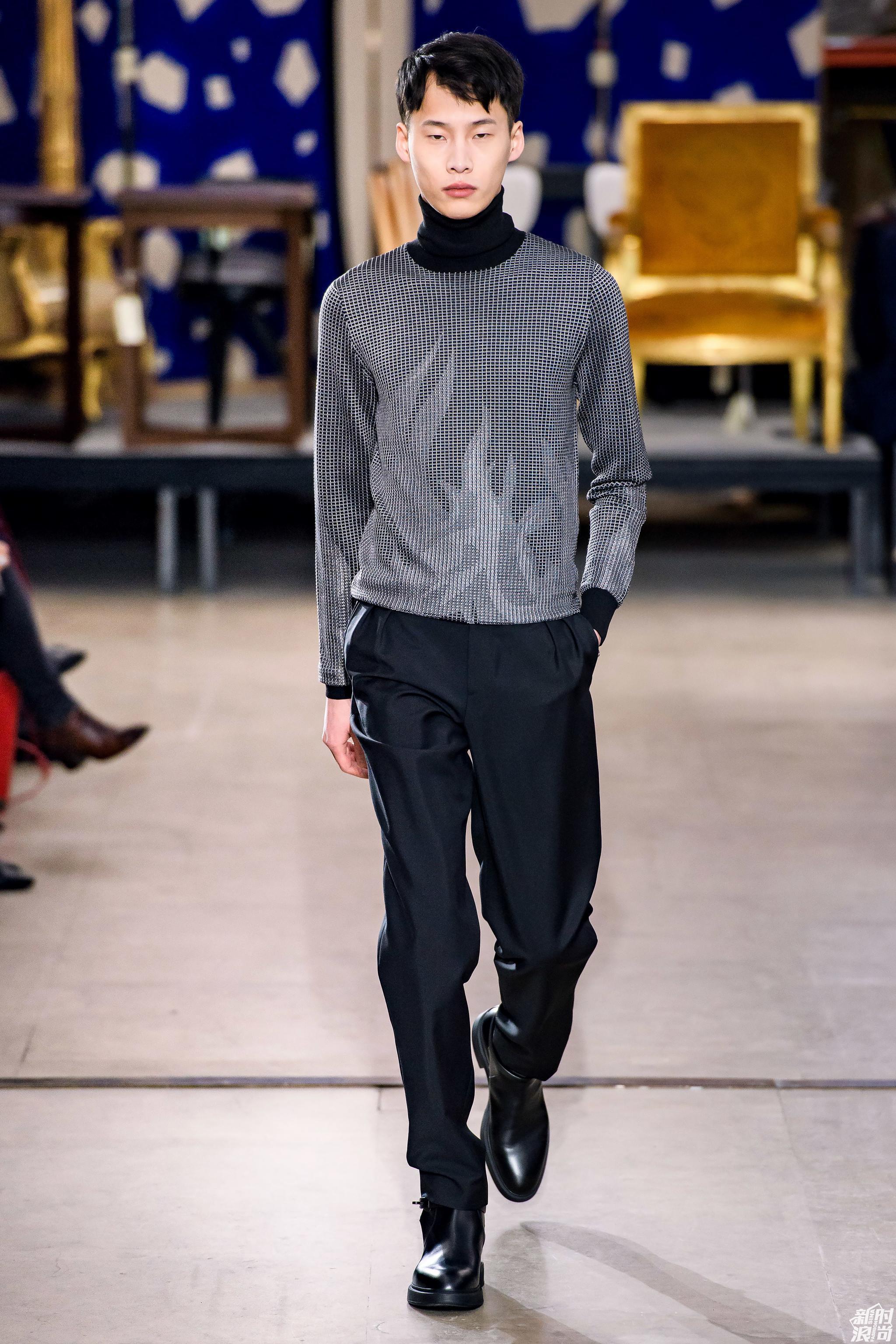 巴黎男装周 Hermès秋冬发布会