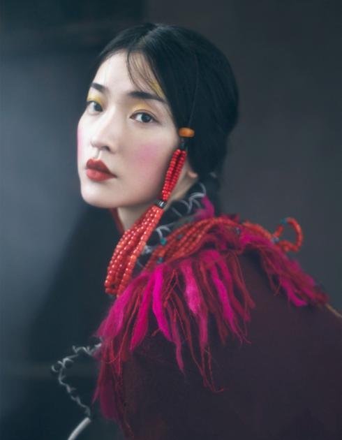 杜鹃演绎文成公主 摄影师尹超