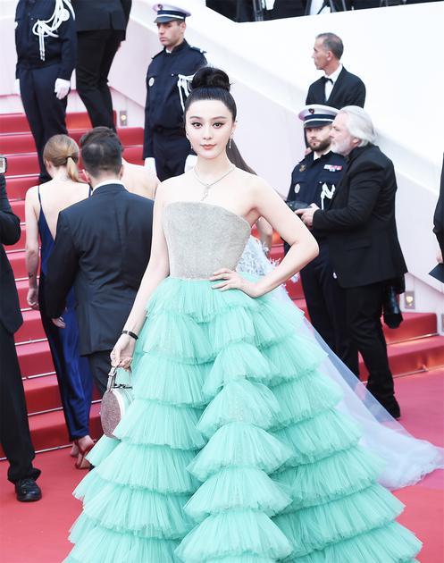 范冰冰携新片《355》出席2018戛纳电影节