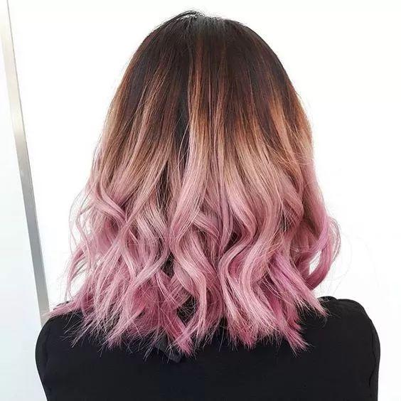 将粉色和棕色分离