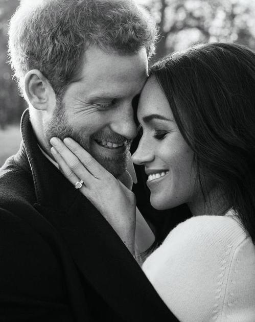 哈里王子及未婚妻Meghan Markle