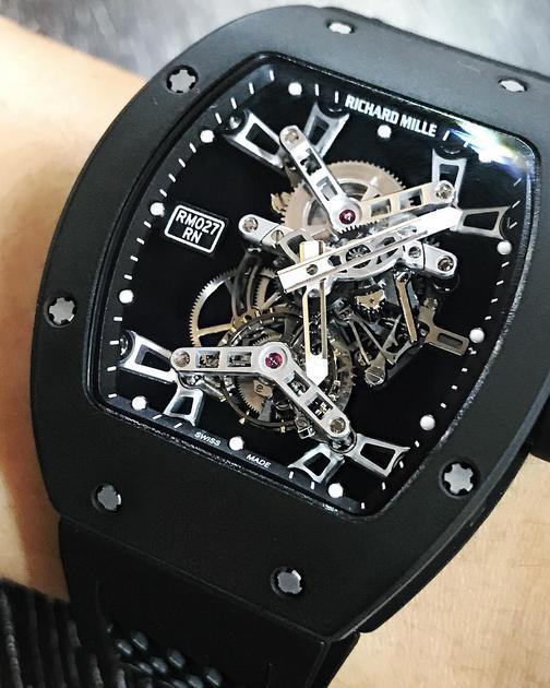 其它看腻了,来块爱彼~林俊杰MIX爱彼皇家橡树离岸型系列腕表