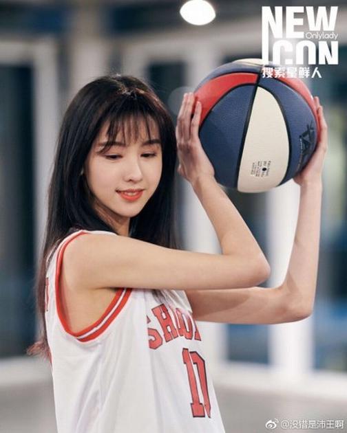 陈都灵运动少女 图片来源微博没错是沛王啊