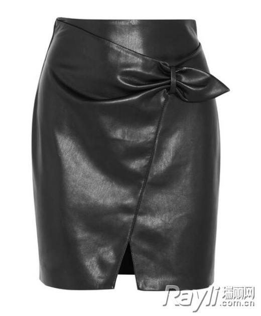 Nanushka人造皮革半身裙