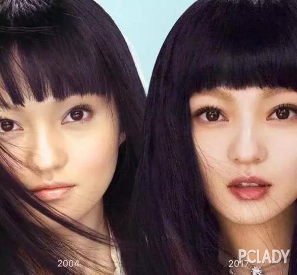 已经出道17年的张韶涵,依旧保持着当初洋娃娃一般的少女感