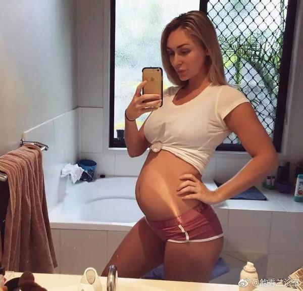 """怀孕有""""妊娠纹"""""""