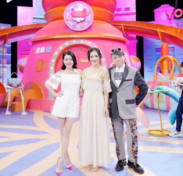 小S、谢娜、蔡康永录制新节目