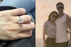 阿娇结婚婚戒接二连三珠宝令人炫目