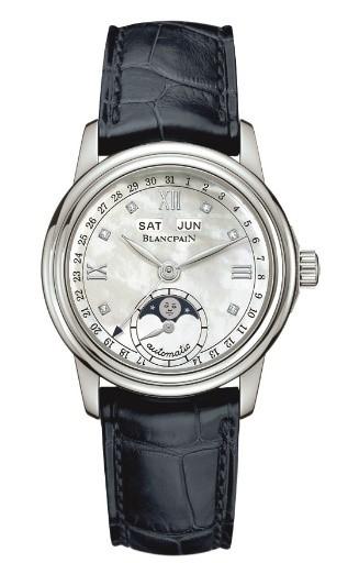 宝珀Blancpain女装系列全历月相腕表