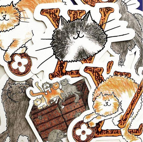 Grace Coddington的插畫圖案
