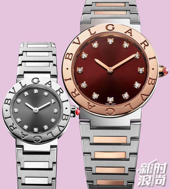 宝格丽全新BVLGARI BVLGARI系列女士腕表