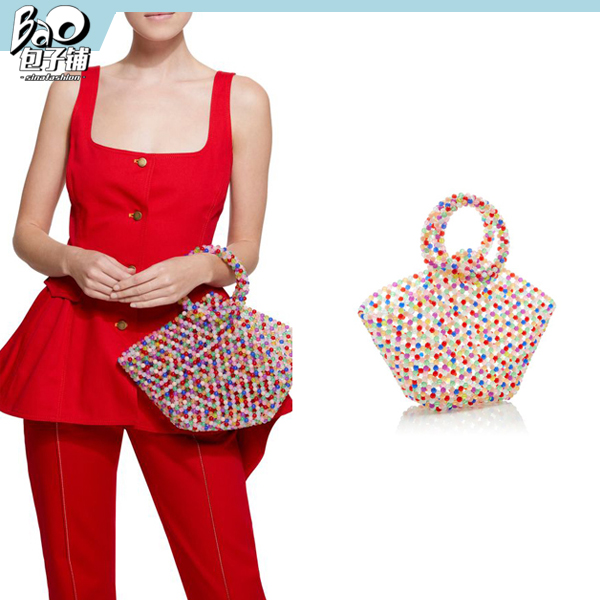 Susan Alexandra的篮子型串珠包包