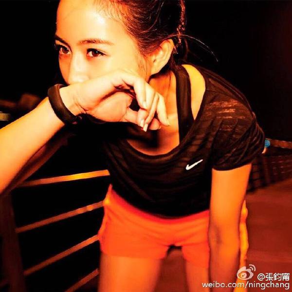 """张钧甯自曝""""吃瘦""""秘籍 爱跑步的她原来是个吃货"""