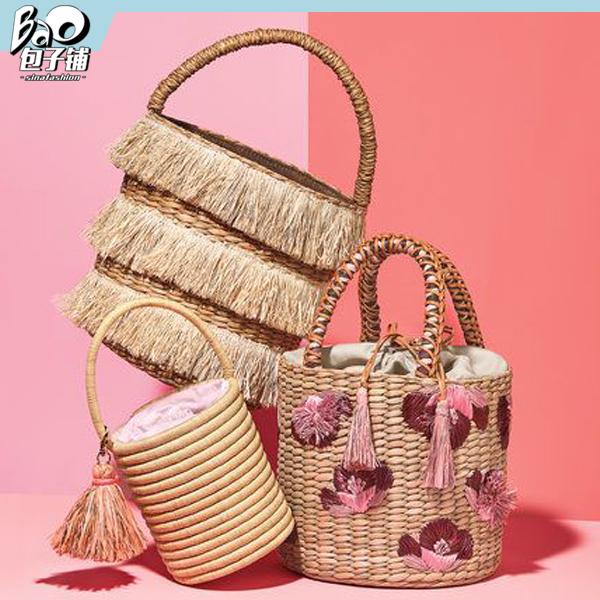 编织竹篮包