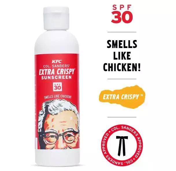 Extra Crispy Sunscreen防晒霜