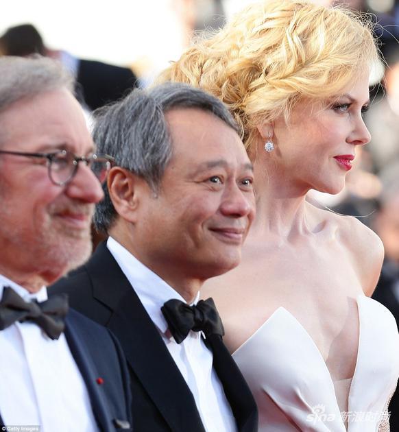 2013年,李安導演和當年的戛納評審團主席史蒂文-斯皮爾伯格導演,以及評審團成員澳洲女星妮可-基德曼