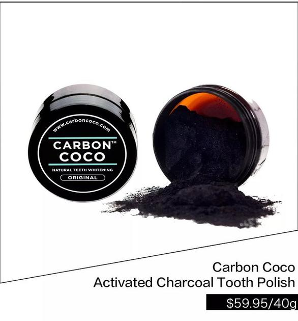 Carbon Coco Activated Charcoal Tooth Polish $59.95/40g