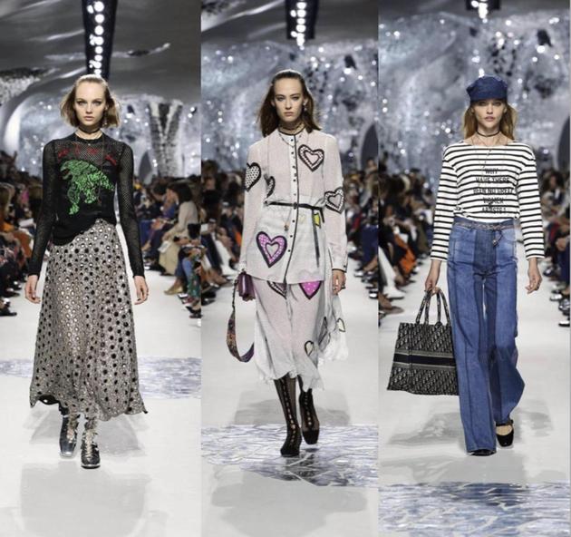 "Dior2018春夏系列的发布秀场设计灵感来源于妮基·圣法勒的作品""塔罗花园"""