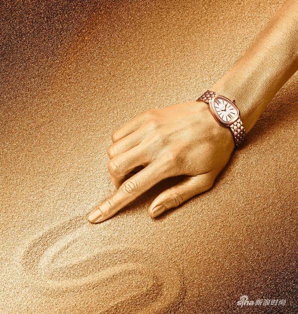 宝格丽Serpenti Seduttori鎏光蛇影腕表,SAP CODE:103146