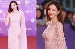 林志玲红毯上最爱的薄纱裙