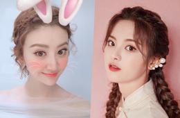 中秋節來畫個粉萌兔子妝吧