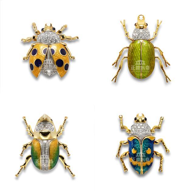 正德东奇带来高级珠宝系列之甲虫魅影