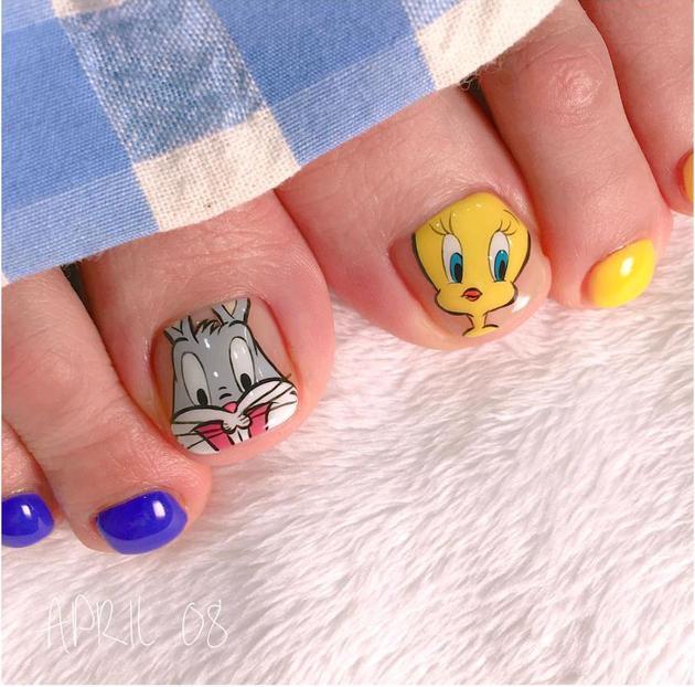 Bugs Bunny和Tweety的经典组合