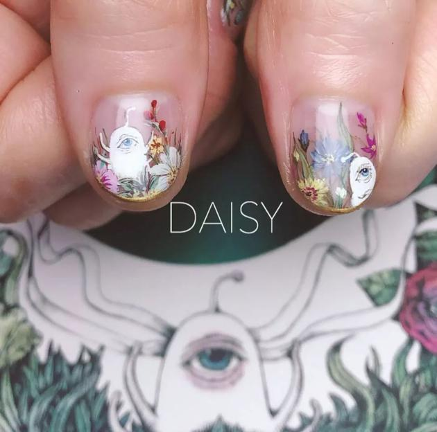 nail_daisy发布的美甲图案