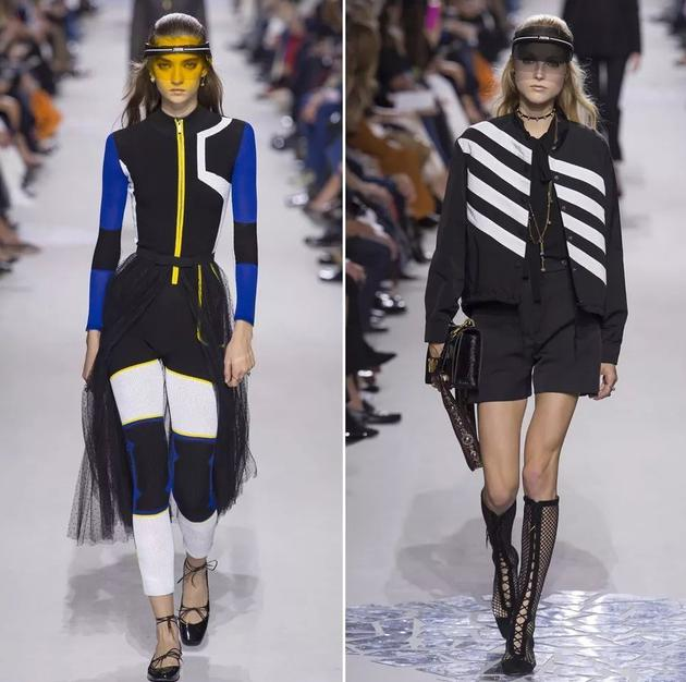 "Dior秀场中的""遮阳帽"""