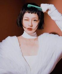 欧阳娜娜土气外露? 怎样get最时髦眉上刘海图片