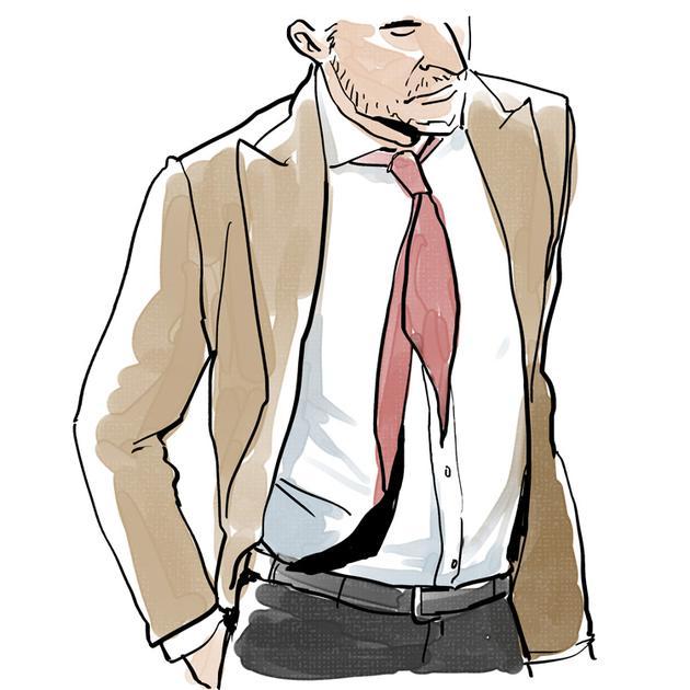 意大利西装 领带