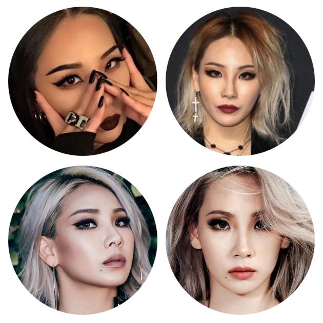 CL标志性妆容