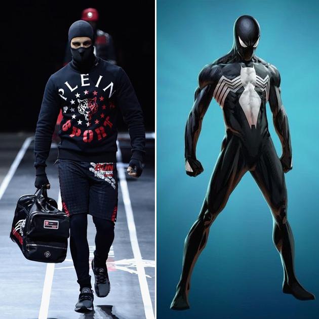 漫威再曝联名款 超级英雄原来还是时尚咖