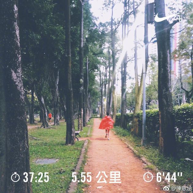 怀孕五个月还能跑5公里?陈意涵才是地表最强孕妇
