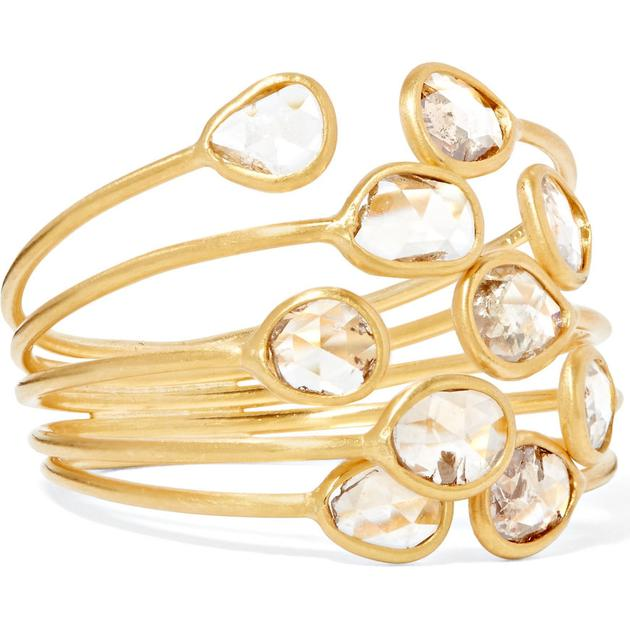 Pippa Small水晶戒指