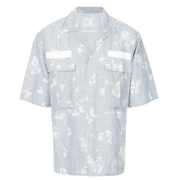 SACAI 休闲条纹衬衫