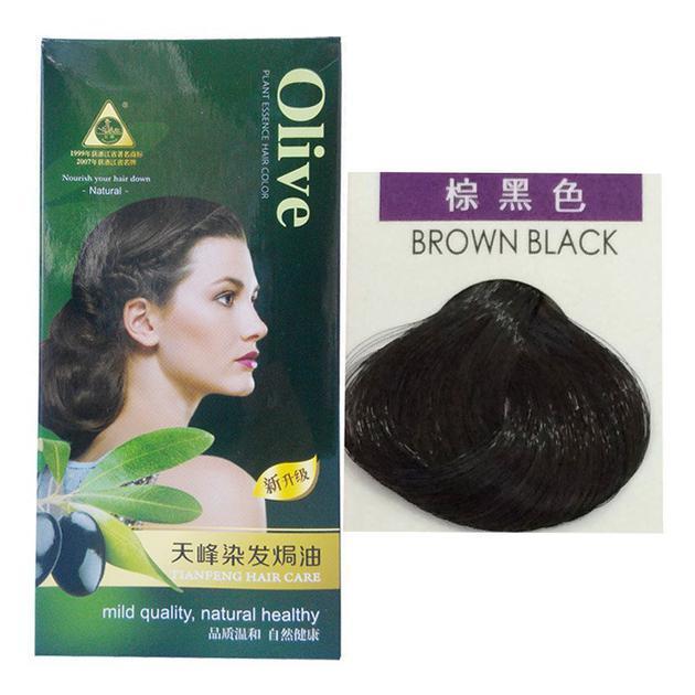 天峰染发焗油(棕黑色)
