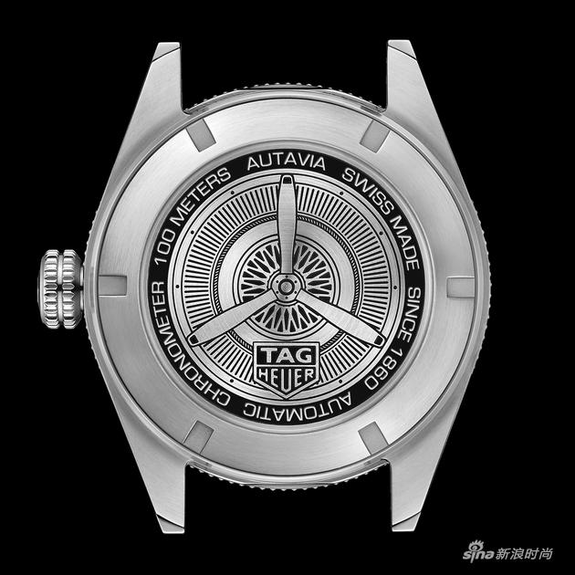 泰格豪雅Autavia系列腕表.表背