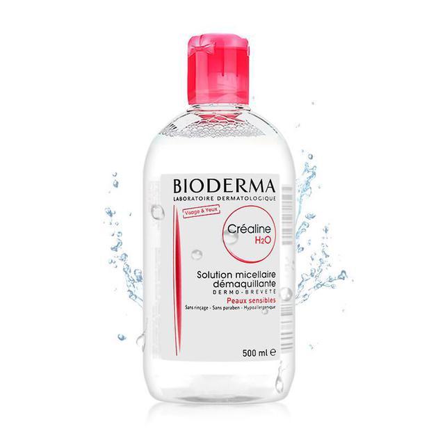 法国贝德玛Bioderma舒妍卸妆水(粉色)500ml