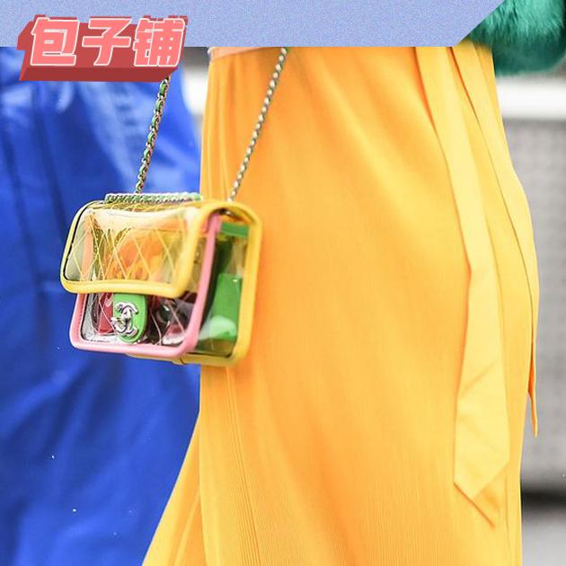 Chanel pvc包包