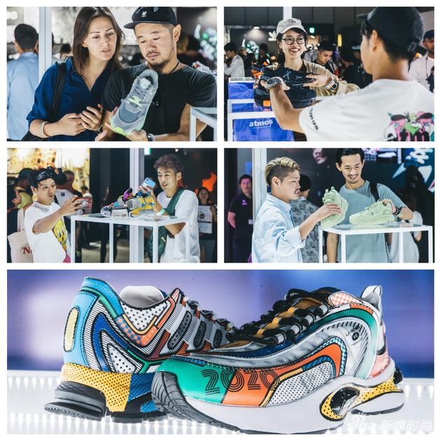李宁展台吸引诸多球鞋爱好者关注