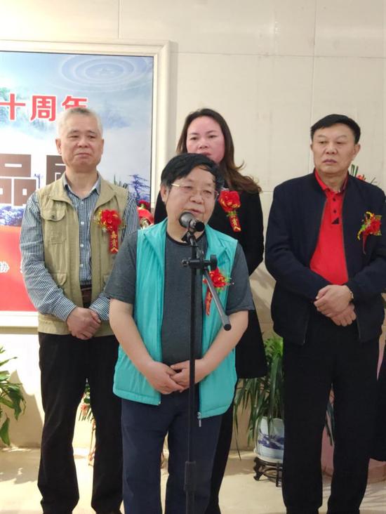 江西省中国画学会执行会长 蔡超致辞