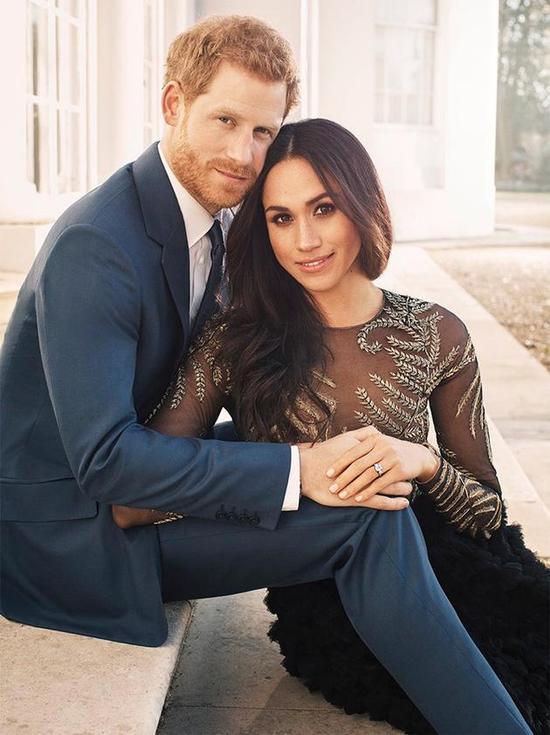 威廉王子与梅根闺蜜担任哈里王子婚礼伴郎伴娘