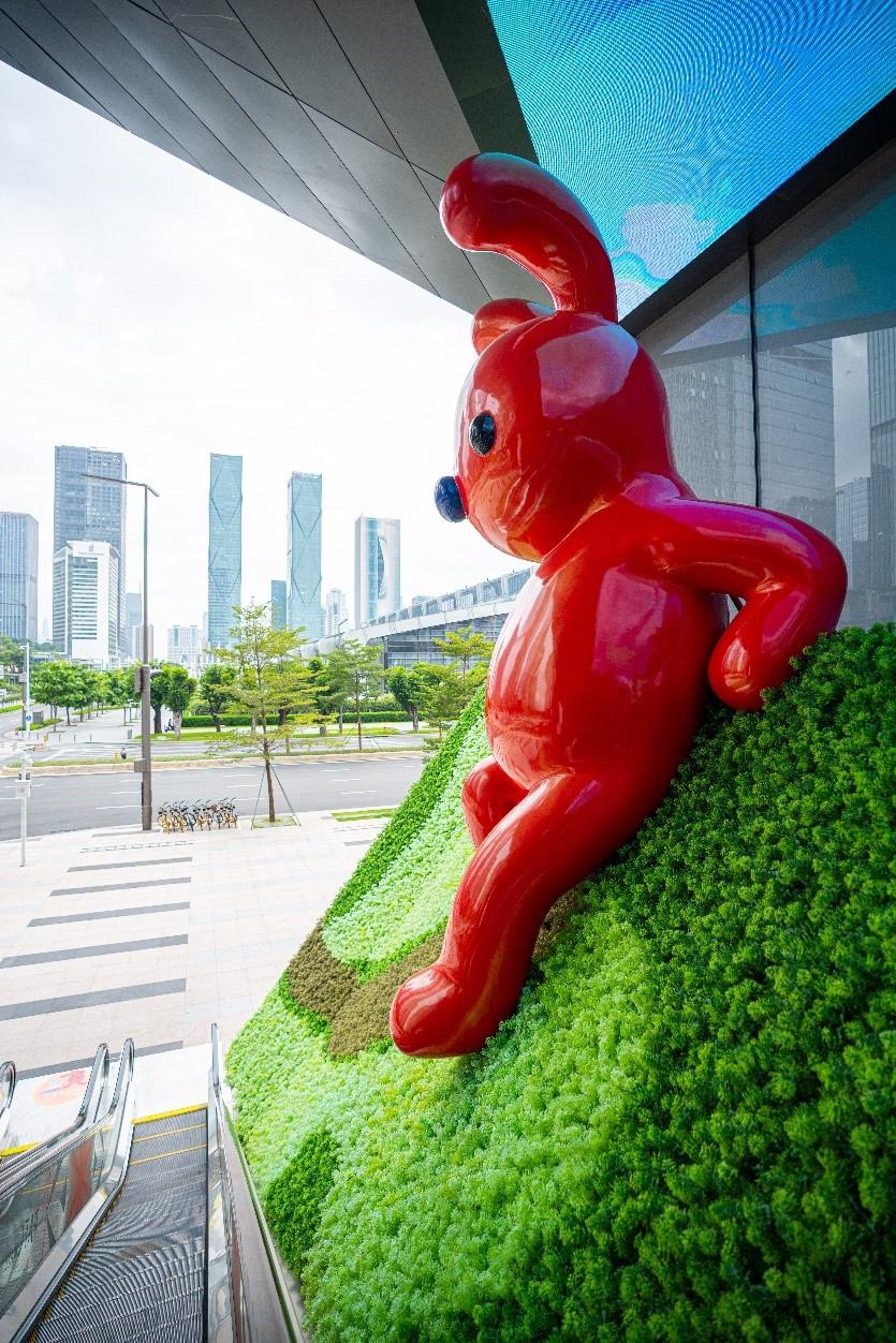 平安国际金融中心 艺术家张占占 公共艺术
