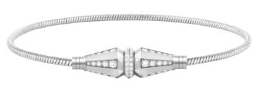 白金钻石手链