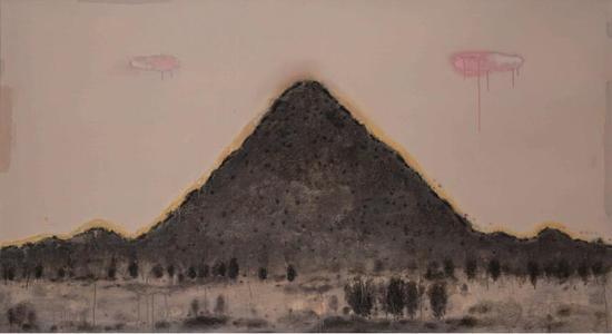 陈淑霞《尊》布面油画 100 ×180 cm 2012