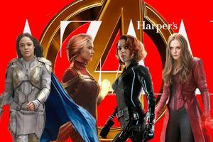 复仇者联盟最后大集结 女英雄们神仙颜值绝了